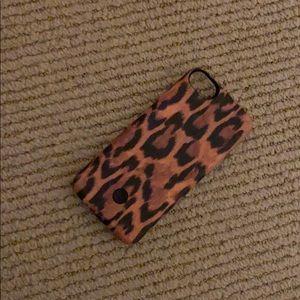Cheetah print iPhone 7 case